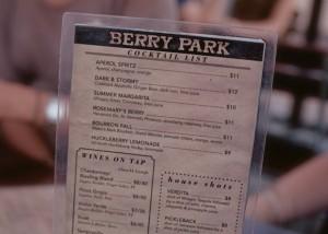 berry park menu