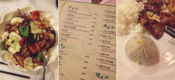 soup dumplings twice cooked pork and the menu at joe's shanghai