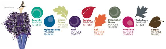 pantone fall 2013 fashion color report