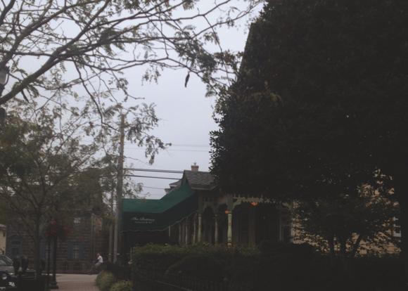 historic district street