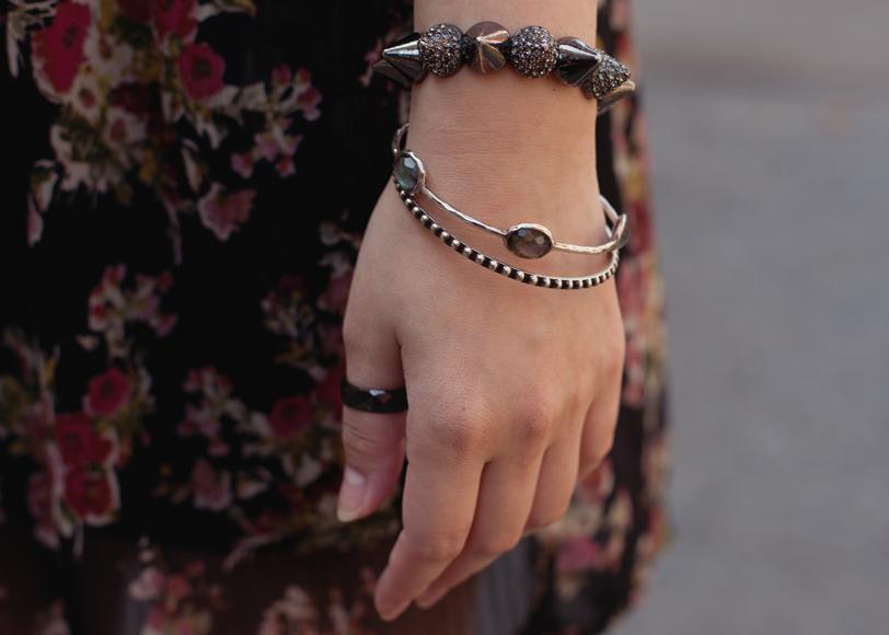 modern design tungsten ring, vintage, amy o, ippolita bracelets