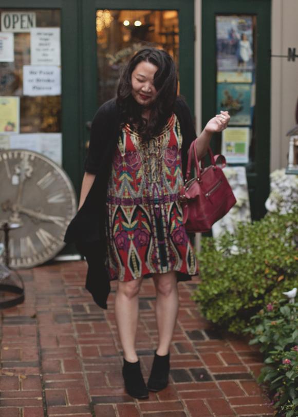 trendy art nouveau forever 21 dress