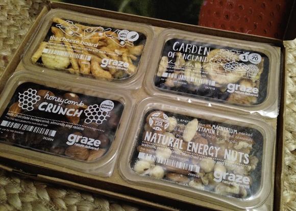 graze subscription box snacks nibblebox