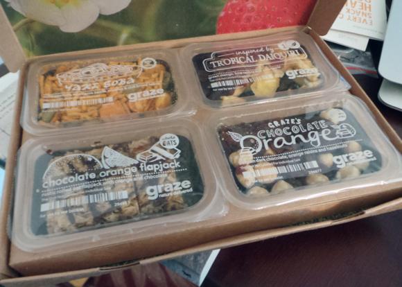 graze nibble box snacks