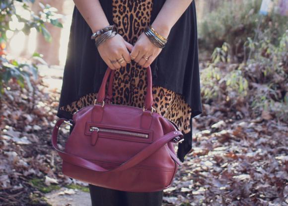 Coach Legacy Molly Satchel and Joe Fresh leopard print dress | Delayed Missives lifestyle blog