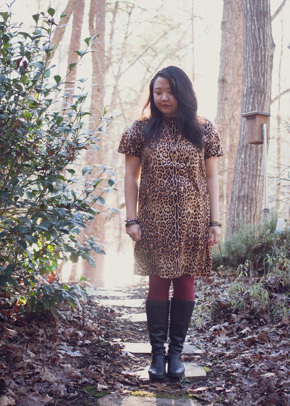 Joe Fresh leopard print dress | Delayed Missives lifestyle blog