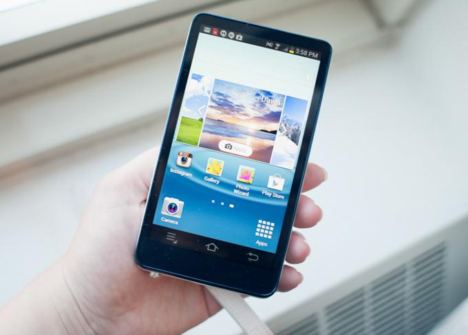 Samsung Galaxy Camera - Back Screen View Shooting Modes