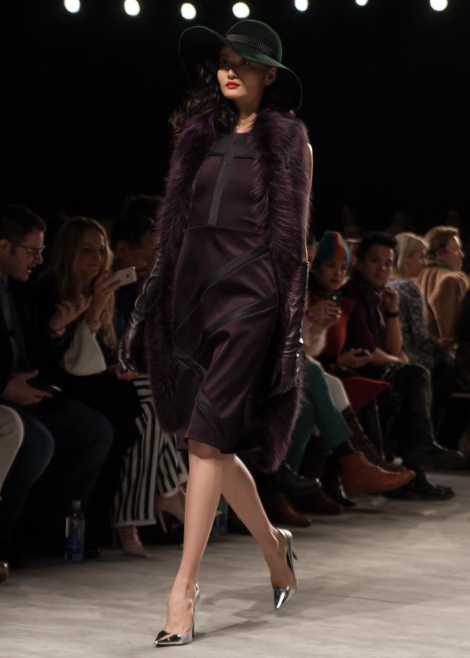 Georgine Fall 2014   New York Fashion Week