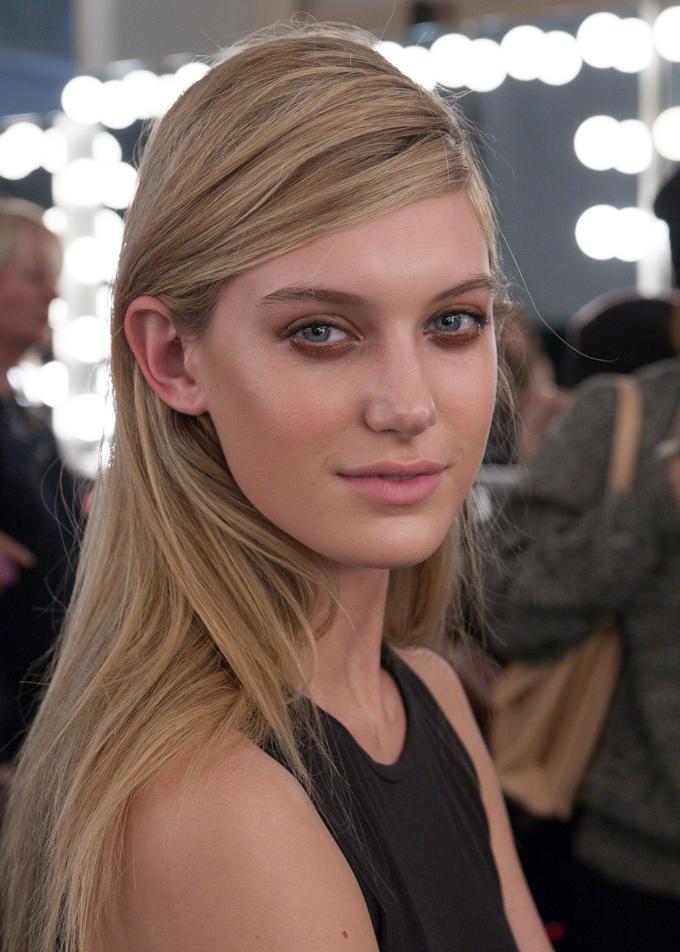 The beauty look at Karolyn Pho Fall 2014 | New York Fashion Week