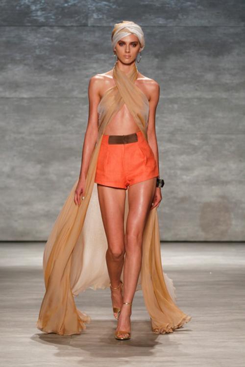 Georgine Spring 2015 | New York Fashion Week