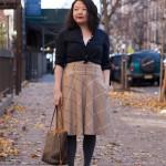 Vintage inspired brunch outfit