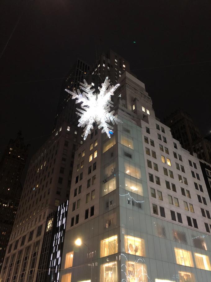 Snowflake light uptown